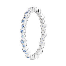 Chamilia Swarovski Zirconia Infinity Stacking Ring Large - Product number 3029794