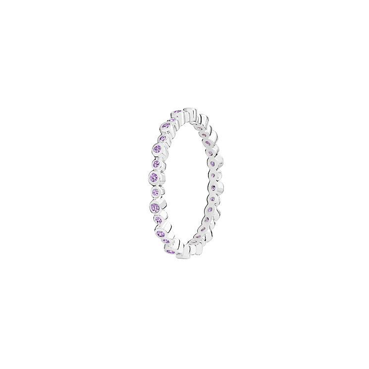 Chamilia Swarovski Zirconia Infinity Stacking Ring Medium - Product number 3029816