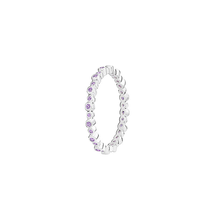 Chamilia Swarovski Zirconia Infinity Stacking Ring Large - Product number 3029824