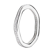 Chamilia Swarovski Zirconia Tranquillity Stacking Ring Small - Product number 3029840