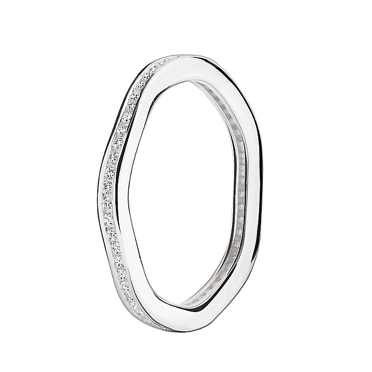 Chamilia Swarovski Zirconia Tranquillity Stacking Ring M - Product number 3029859