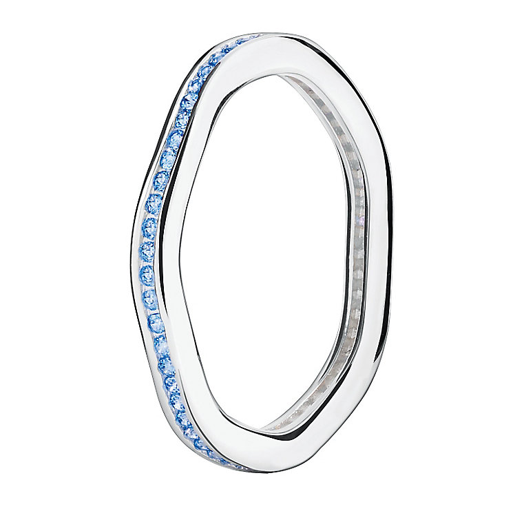 Chamilia Swarovski Zirconia Tranquillity Stacking Ring Large - Product number 3029956