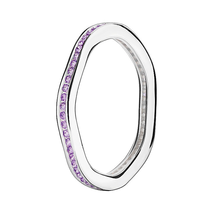Chamilia Swarovski Zirconia Tranquillity Stacking Ring Small - Product number 3029964