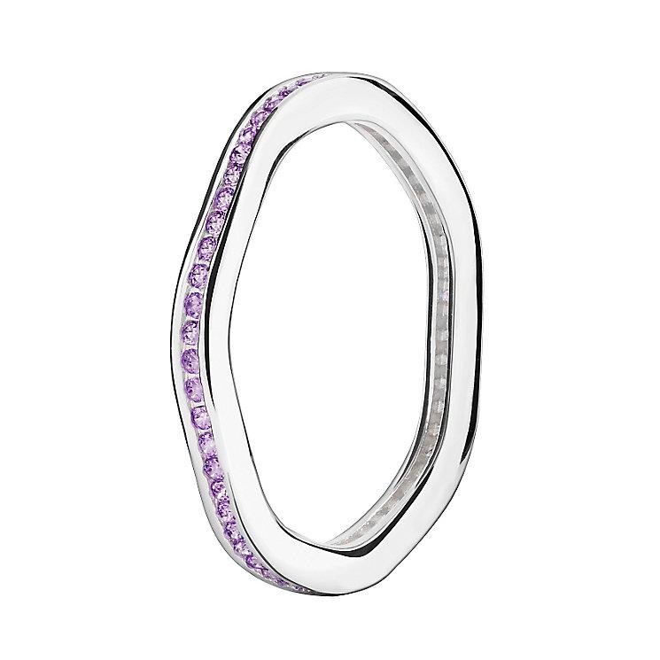 Chamilia Swarovski Zirconia Tranquillity Stacking Ring Large - Product number 3029999