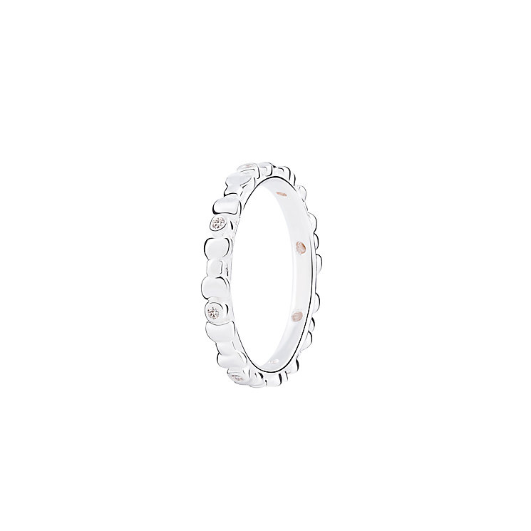 Chamilia Affinity bright sterling silver ring small - Product number 3030121