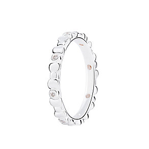 Chamilia Affinity bright sterling silver ring large - Product number 3030199