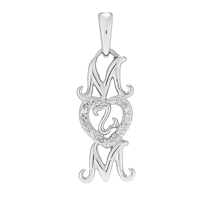 Open Hearts Family By Jane Seymour Diamond Mum Charm - Product number 3030350