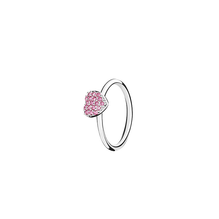 Chamilia Affection pink zirconia ring small - Product number 3030504