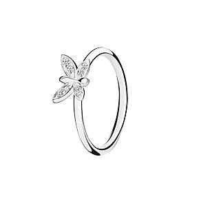 Chamilia Renewal white zirconia ring medium - Product number 3030733