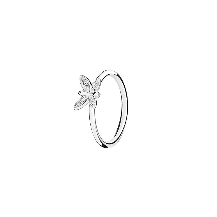 Chamilia Renewal white zirconia ring large - Product number 3030741
