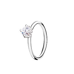 Chamilia Diva Solitaire white zirconia ring medium - Product number 3030806