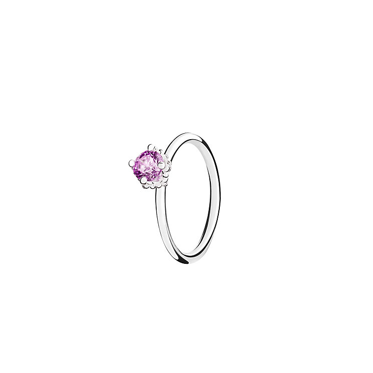 Chamilia Diva Solitaire purple zirconia ring large - Product number 3031411