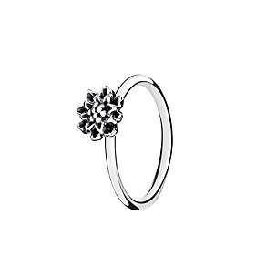 Chamilia Bloom light antique sterling silver ring large - Product number 3031675