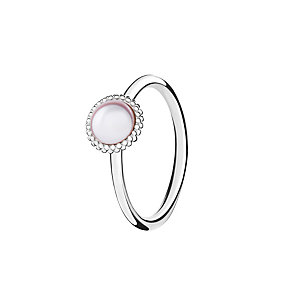Chamilia Wisdom Swarovski pearl ring small - Product number 3031896