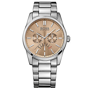 Hugo Boss men's stainless steel bracelet watch - Product number 3032477