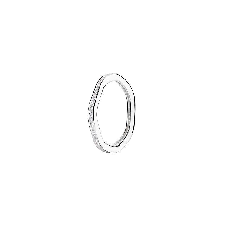 Chamilia Tranquility Swarovski zirconia ring large - Product number 3033473