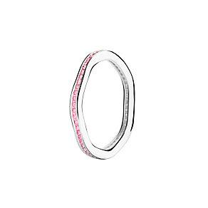 Chamilia Tranquility pink Swarovski zirconia ring medium - Product number 3033503