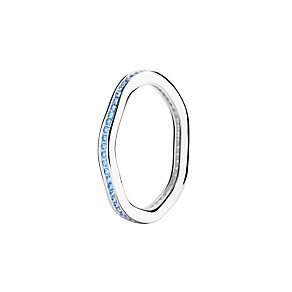 Chamilia Tranquility blue Swarovski zirconia ring small - Product number 3033597