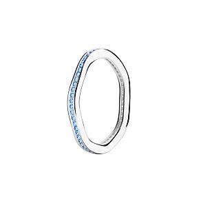 Chamilia Tranquility blue Swarovski zirconia ring medium - Product number 3033643