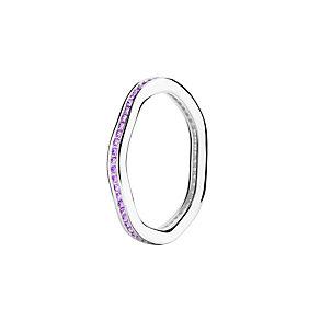 Chamilia Tranquility purple Swarovski zirconia ring small - Product number 3033775