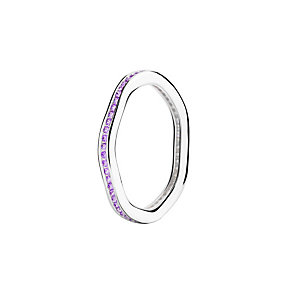 Chamilia Tranquility purple Swarovski zirconia ring medium - Product number 3033783