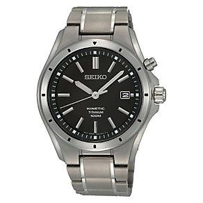 Seiko Kinetic men's titanium bracelet watch - Product number 3053490