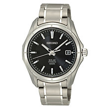 Seiko Kinetic men's titanium bracelet watch - Product number 3053555