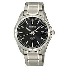Seiko Kinetic men's titanium bracelet watch - Product number 3053555