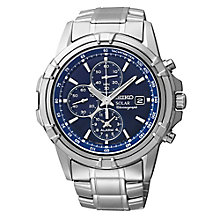 Seiko Solar men's stainless steel bracelet watch - Product number 3053873