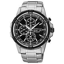 Seiko Solar men's stainless steel bracelet watch - Product number 3054047
