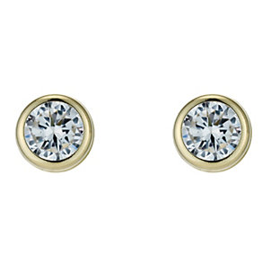 Gold Stud Earrings - Product number 3054470