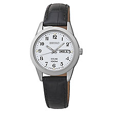 Seiko Solar ladies' stainless steel bracelet watch - Product number 3054586