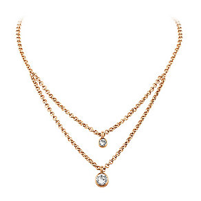 Dyrberg Kern Fulli Rose Gold-Plated Stone Set Necklace - Product number 3055299