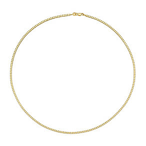 """9ct Yellow Gold 18"""" Box Chain - Product number 3057151"""