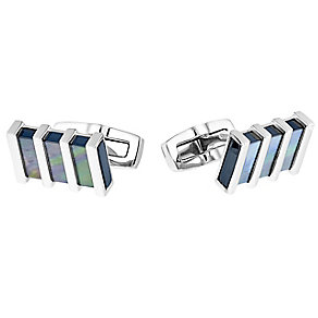 Hugo Boss T-Charles mother of pearl rectangular cufflinks - Product number 3057291