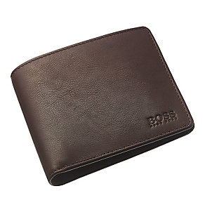 Hugo Boss Bardio men's brown leather bifold wallet - Product number 3057321