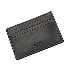 Hugo Boss Barnty men's black leather card holder - Product number 3057364