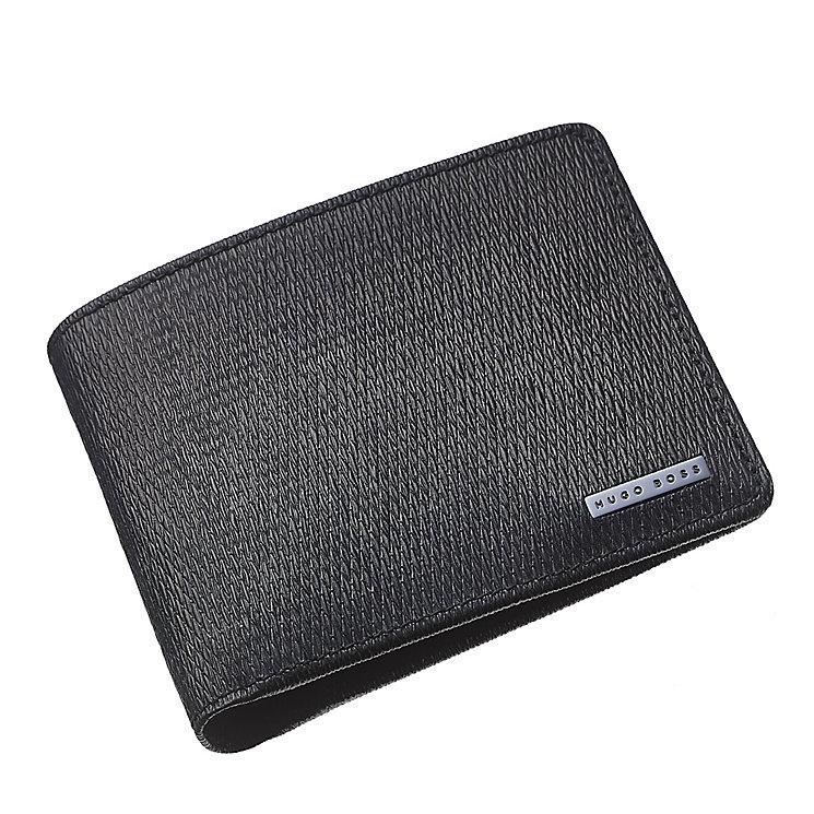 Hugo Boss London men's black bifold wallet - Product number 3057437