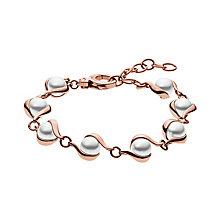 Skagen Agenthe Rose Gold Tone Pearl Bracelet - Product number 3062279