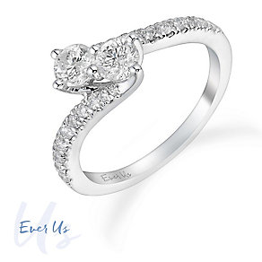Ever Us 14ct White Gold 3/4 Carat Diamond Ring - Product number 3069249