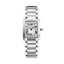 Cartier Tank Francaise Ladies' Bracelet Watch - Product number 3070271