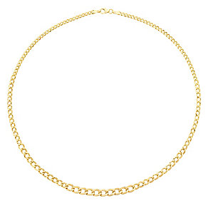 9ct gold chain necklet - Product number 3071405