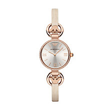 Emporio Armani Ladies' Rose Gold Tone Watch - Product number 3071820