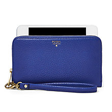 Fossil Sydney ladies' sapphire zip phone case - Product number 3074641