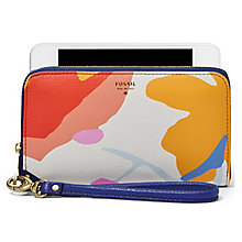 Fossil Sydney ladies' floral leather phone case - Product number 3074811