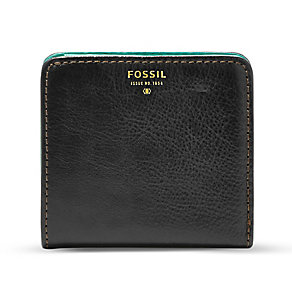 Fossil Sydney ladies' black bifold wallet - Product number 3075486