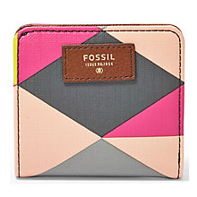 Fossil Sydney ladies' printed leather bifold wallet - Product number 3077888