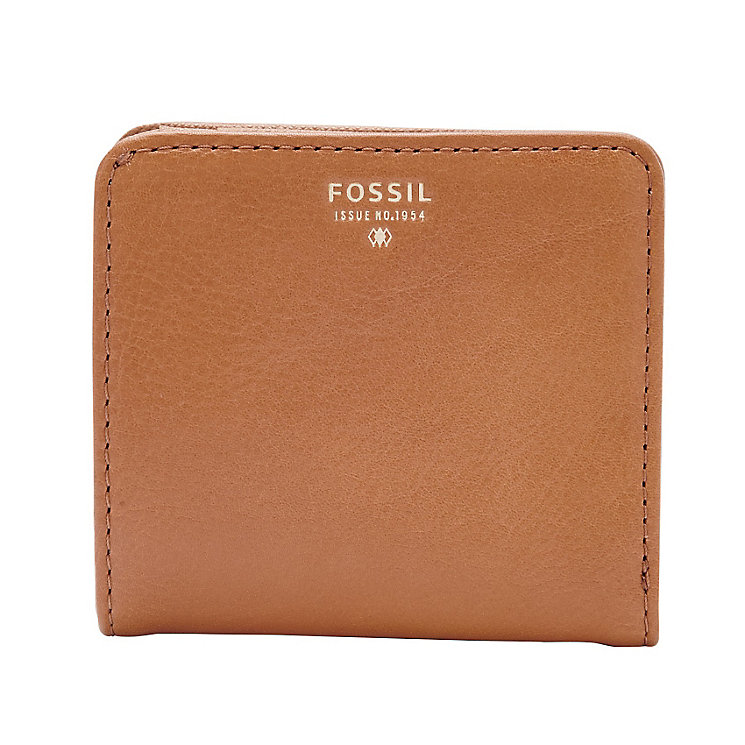 Fossil Sydney Ladies' Camel Bi-fold Wallet - Product number 3077896