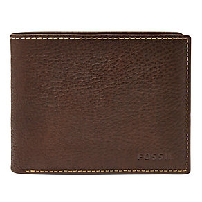 Fossil Lincoln brown bifold wallet - Product number 3079961