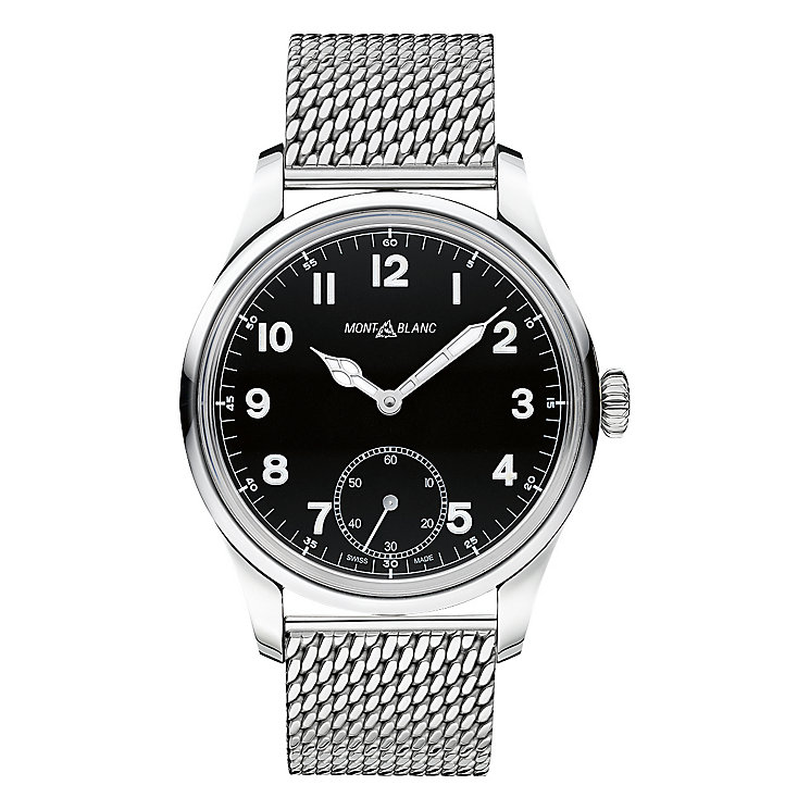 Montblanc men's stainless steel bracelet watch - Product number 3084876